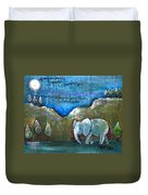 An Elephant For You Duvet Cover