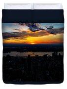 An Empire Sunset Duvet Cover