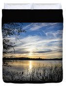 An Evening In Lakes Country Duvet Cover