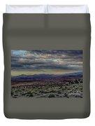 An Evening In The Desert Duvet Cover