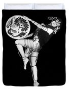 An Exotic Russian Dancer Duvet Cover by Underwood Archives