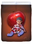 An Image Of A Photograph Of Your Child. - 04 Duvet Cover
