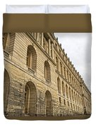 An Imposing View Of The Palace Duvet Cover