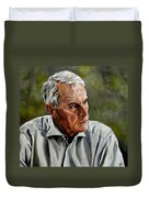 An Interesting Man - Viktor Hesse Duvet Cover