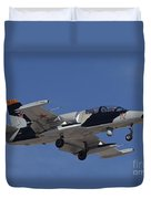 An L-39za Albatros Used As A Threat Duvet Cover