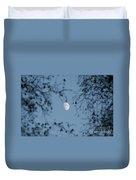 An October Moon Duvet Cover