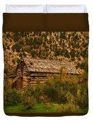 An Old Cabin In Utah Duvet Cover