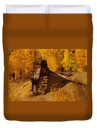 An Old Colorado Mine In Autumn Duvet Cover