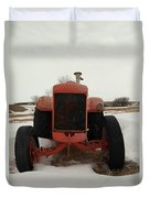 An Old Dase Tractor Duvet Cover