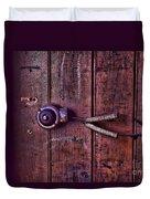An Old Doorbell Duvet Cover