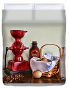 An Old Fashion Breakfast Duvet Cover