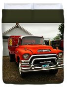 An Old Gmc  Duvet Cover by Jeff Swan