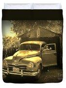 An Old Hidden Gem Duvet Cover by John Malone