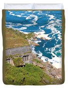 An Old  Hydroelectric Generating Station Duvet Cover