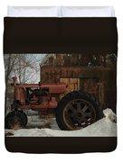 An Old John Deer Duvet Cover by Jeff Swan