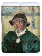 An Old Man, Celeyran, 1882 Oil On Canvas Duvet Cover