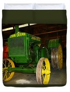 An Old Restored John Deere Duvet Cover