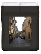 An Old Street In Assisi Italy  Duvet Cover