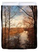Anacostia River 6457 Duvet Cover