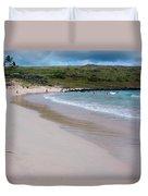 Anakena Sand Duvet Cover