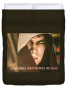 Anakin Skywalker A Powerful Sith Duvet Cover