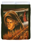 Anakin Turns To The Dark Side Duvet Cover