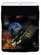 10115 Anakin's Starfighter Duvet Cover