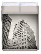 Analog Photography - Berlin Beisheim Center Duvet Cover