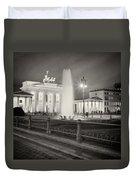 Analog Photography - Berlin Pariser Platz Duvet Cover
