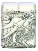 Anare'il The Chaos Dragon Duvet Cover