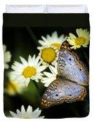 Anartia Jatrophae Duvet Cover