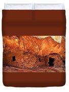 Anasazi  Cliff Dwelling Duvet Cover
