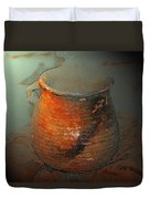 Anasazi Cooking Pot Duvet Cover