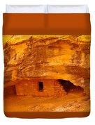 Anasazi Ruins  Duvet Cover by Jeff Swan