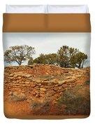 Anasazi Ruins Southern Utah Duvet Cover