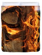 Anatomy Of Fire Duvet Cover