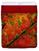 Anatomy Of The Fall... Duvet Cover