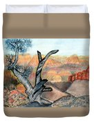 Anceint Canyon Watcher Duvet Cover