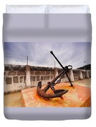 Anchor In La Canal Duvet Cover