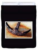 Anchored - Coastal Art By Sharon Cummings Duvet Cover by Sharon Cummings