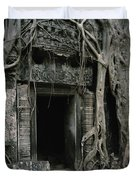 Ancient Angkor Duvet Cover by Shaun Higson