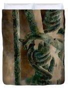 Ancient Barrier Duvet Cover