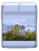 Ancient Castle Donegal Duvet Cover