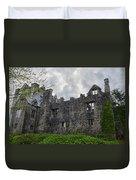 Ancient Donegal Castle Duvet Cover