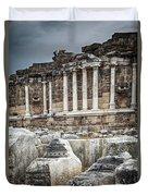 Ancient Fountain Duvet Cover