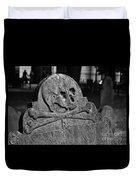 Ancient Gravestone Duvet Cover