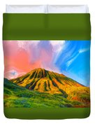 Ancient Hawaii Lava Flow Duvet Cover