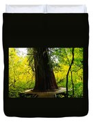 Ancient Old Growth Duvet Cover