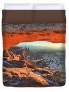 Ancient Orange Duvet Cover