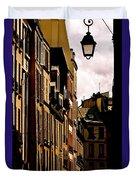 Ancient Paris Duvet Cover